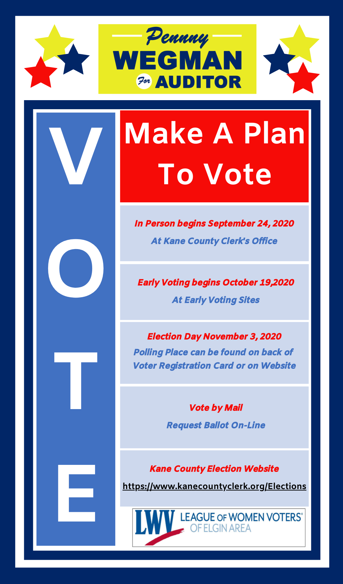 Make a plan to vote!