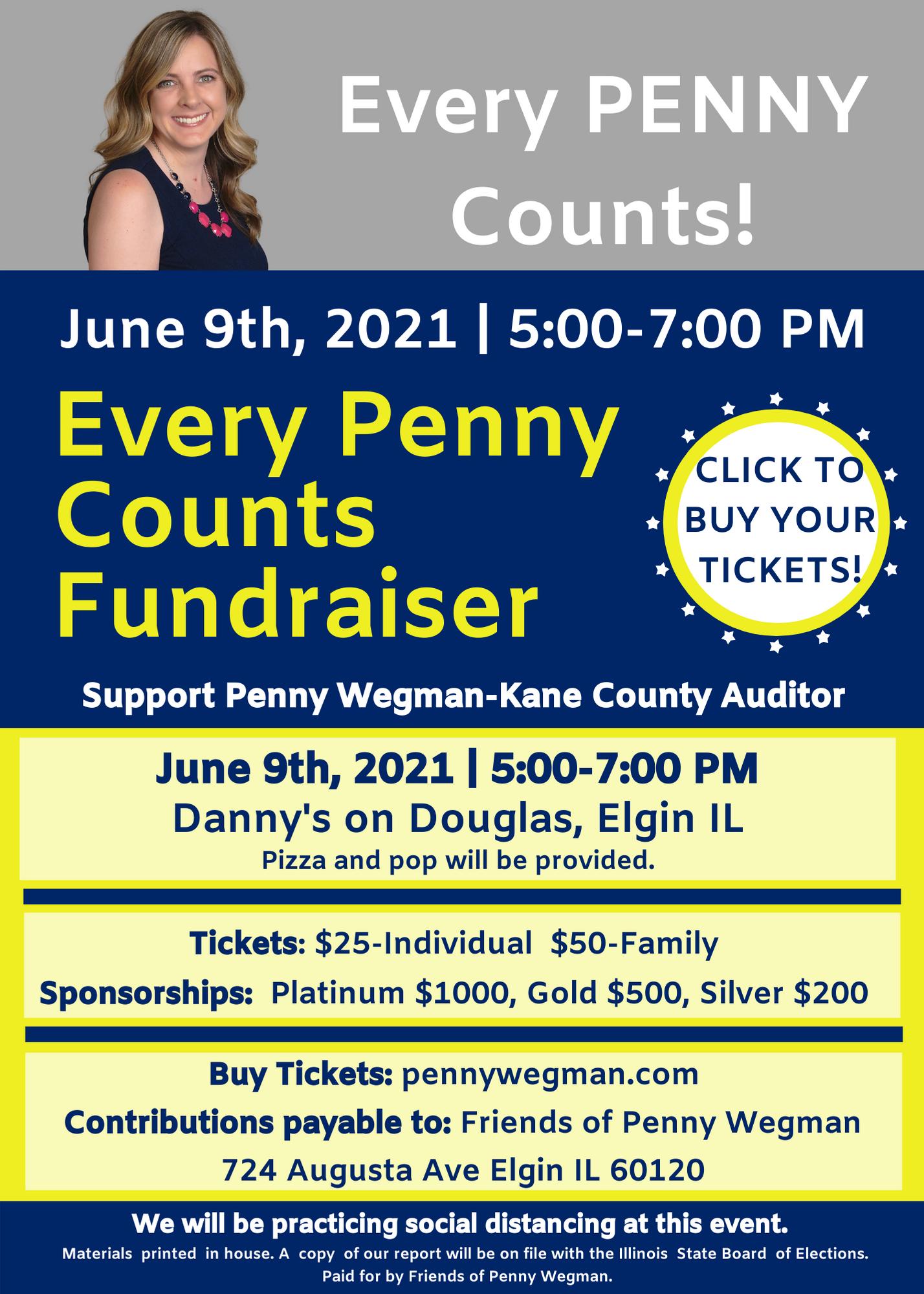 Penny Wegman Fundraiser